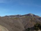 Incendio Cornaccio; Burnt area Cornaccio peak