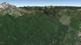 Cusna from Monte Orsaro itinerary