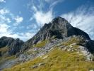 La cresta nord-est del Pizzo