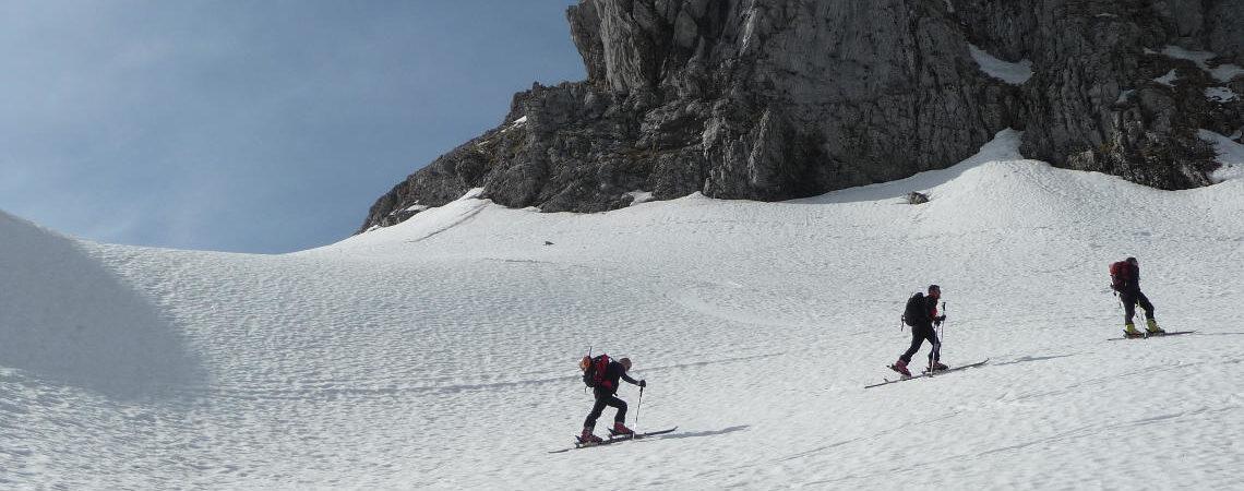 Pania della Croce con gli sci – 2009