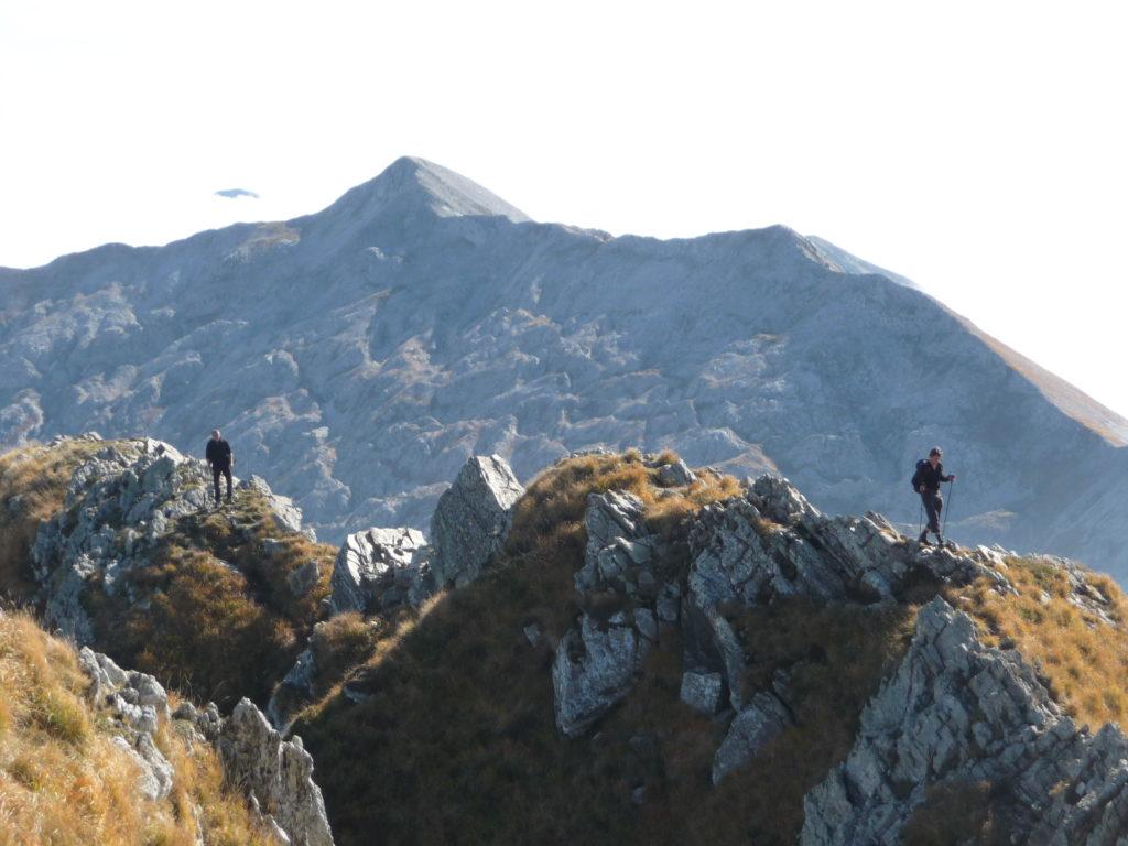 Cresta finale e Tambura sullo sfondo